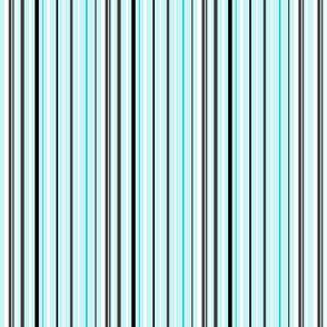 stripes blue black