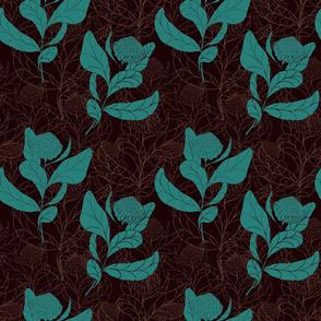Earthy Jade Proteas