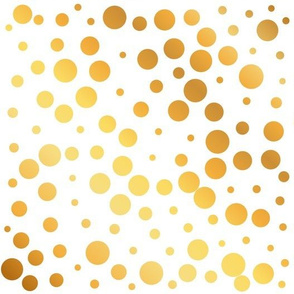 Golden Polka Dots