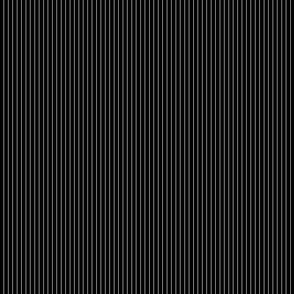 black and white pinstripe
