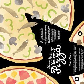 Gourmet Pizza Tea Towel