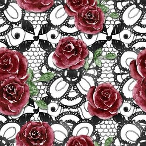 Lacy Roses