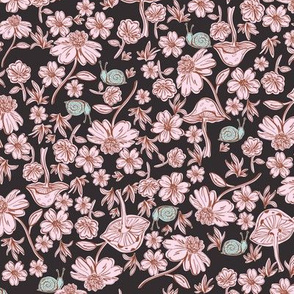 Ditsy floral Woodland Surprise