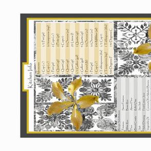 Hawaiian Golden Orchid Kitchen Wisdom