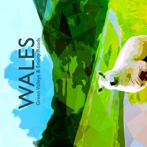 Wales Tea Towel