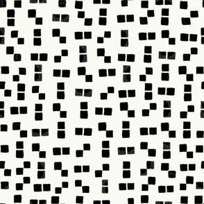 344-Gulsen-Active wear hand drawn black squares simple pattern