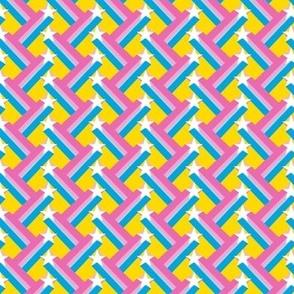 Star Shooter* (Velvet Banana) || shooting stars geometric stripes zig zag 70s retro pastel disco