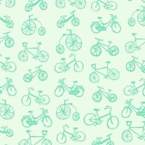 Little green bikes