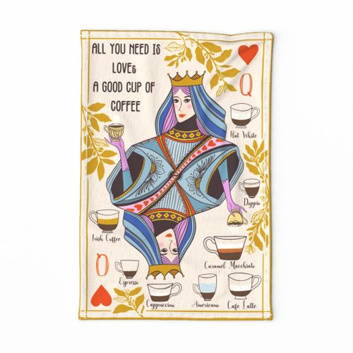 The Coffee Queen of Hearts -Light