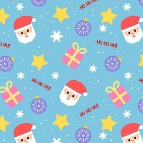 Christmas Pattern - Blue