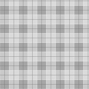 Simply Cute Gingham - Grey