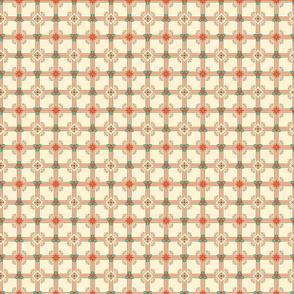 XM Plaid White Red Grn
