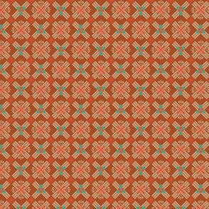 XM Diag Plaid Copper Red