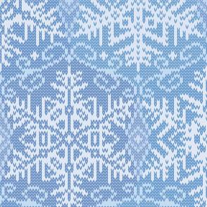 Cozy Knit L Blue