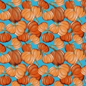 Tossed Pumpkins-Medium Scale
