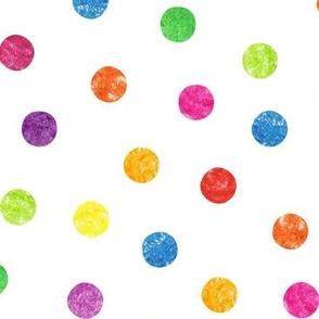 Crayon Dots - Large