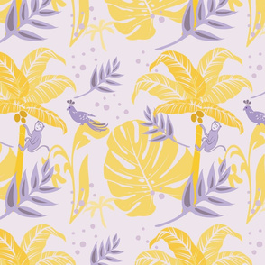 Monkey lavender bkgd with yellow-final