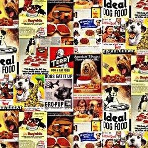 Vintage Dog Food