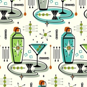 Atomic Martinis and Shakers