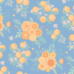 Citrus splash  blue
