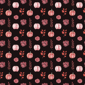 Autumn Pattern Dark