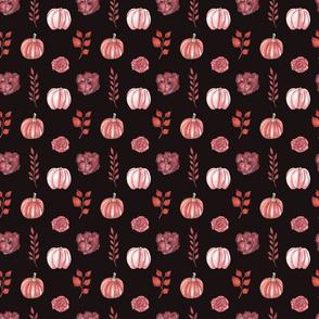 Autumn Pattern Dark