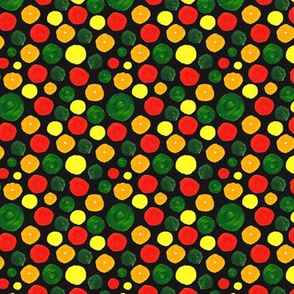 Many Dots Pattern Dark