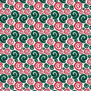 Spiral Pattern White