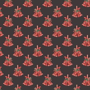 Jingle Bells Pattern Dark