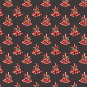 Jingle Bells Pattern Dark