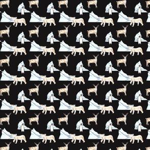 Polar Animals Pattern Dark