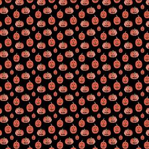 Pumpkin Pattern Dark