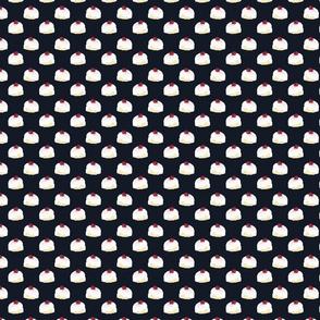 Pudding Cherry Pattern Dark