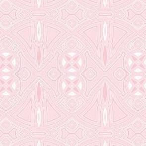 art deco industrial pink