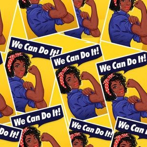 We can do it African American black girls