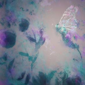 Butterflie, Watercolor Poppies