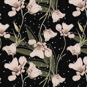 Bella-Nora vintage floral pattern