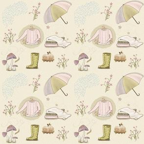 Bella-Nora Scandinavian  Autumn pattern