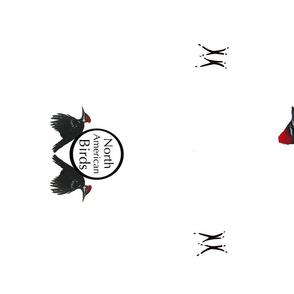 Pileated Woodpecker Tea Towel