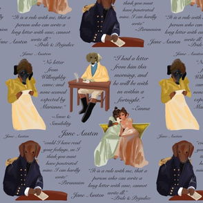 Regency Dachshunds and the Art of the Letter Gray