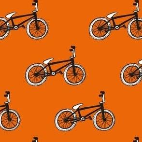 BMX bikes - orange