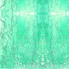 Seafoam Palace Curtain