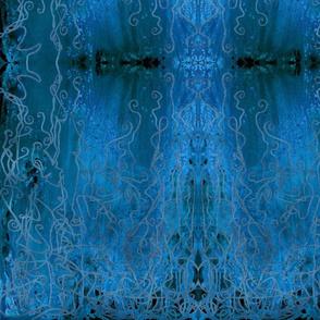 Blue Palace Curtain