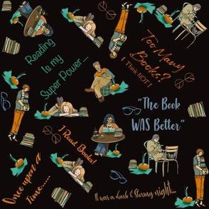 I read books!