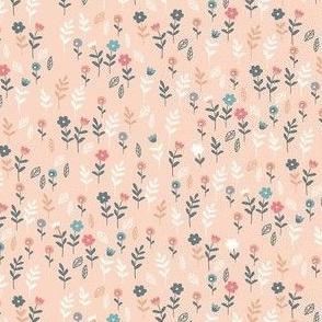 Light Pink Ditzy Floral