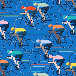 Tour de Force medium scale in blue by Pippa Shaw