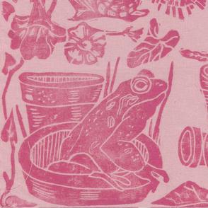 cottage garden pink edit
