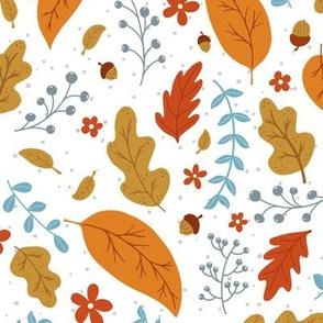 Autumn and Acorns (bigger)