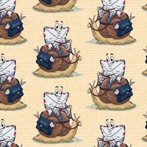 Snail Mail Cream Paper