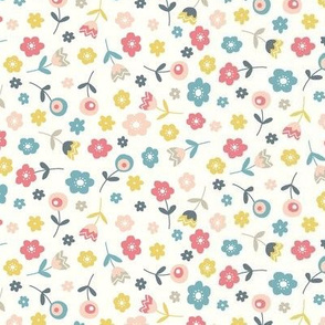 Tossed Floral